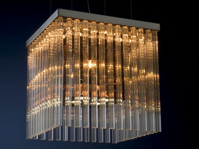 Halogen glass pendant lamp ALISTAIR 50 by Quasar