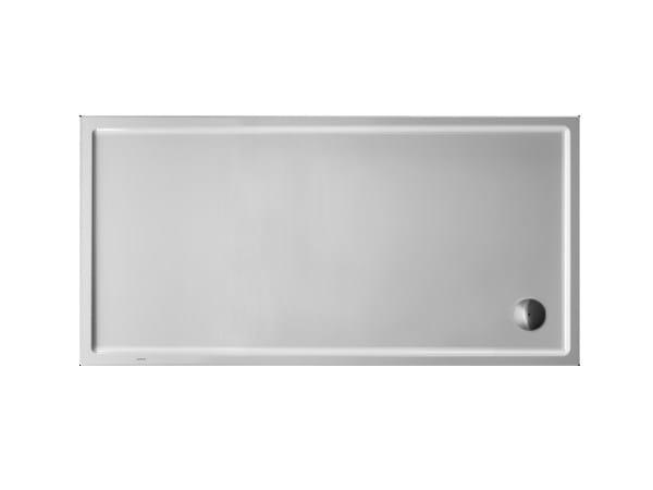 Rectangular acrylic shower tray STARCK | 180 x 90 by Duravit
