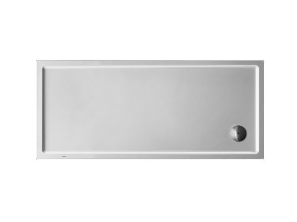 Rectangular acrylic shower tray STARCK | 160 x 70 by Duravit
