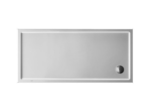 Rectangular acrylic shower tray STARCK | 160 x 75 by Duravit