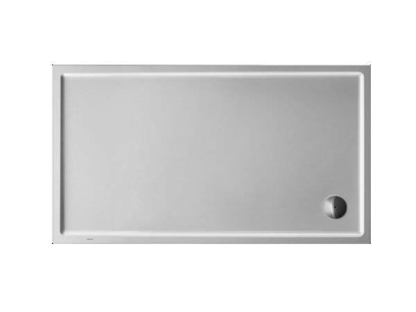 Rectangular acrylic shower tray STARCK | 160 x 90 by Duravit