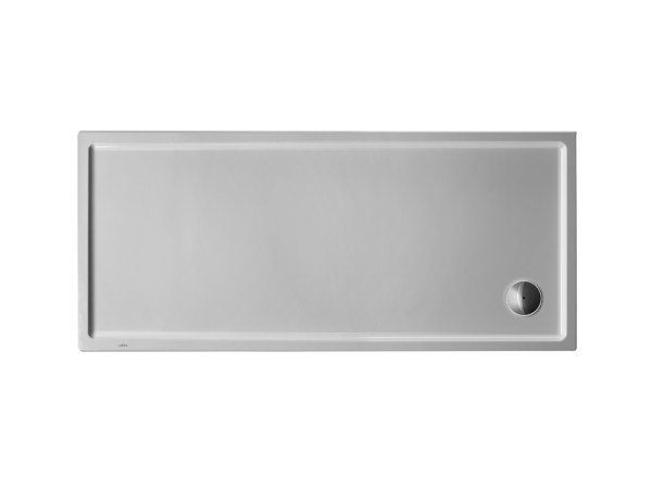 Rectangular acrylic shower tray STARCK | 170 x 75 by Duravit