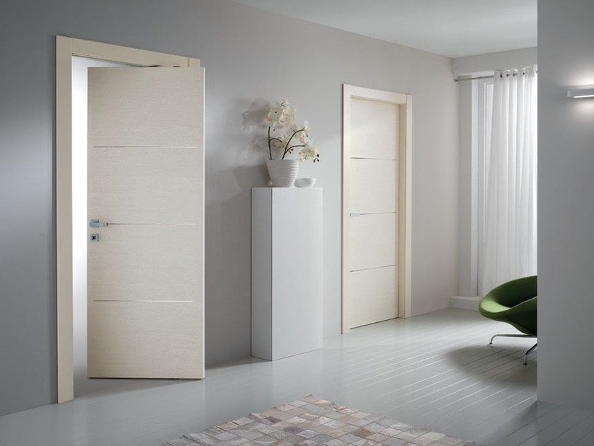 Laminate pivot door STILIA | Pivot door by GIDEA