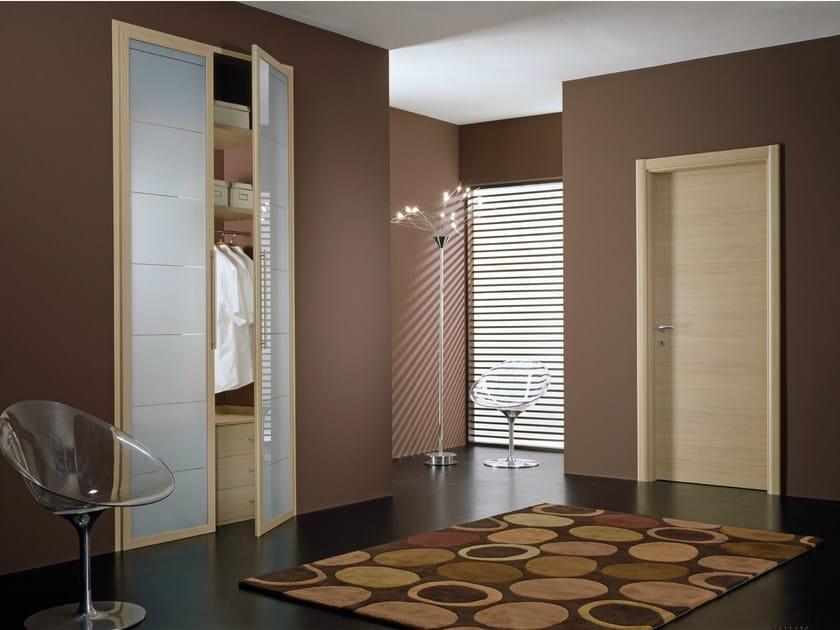 Screen printed glass wardrobes door MIRIA | Screen printed glass cabinet door by GIDEA