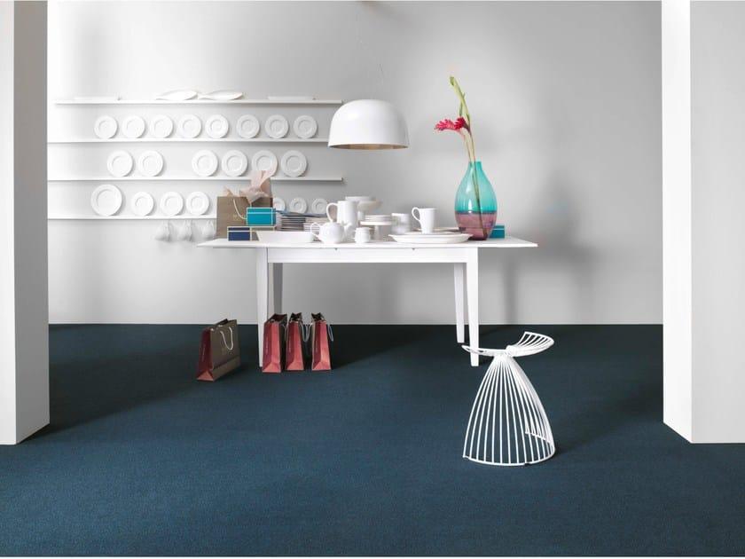 Solid-color carpeting TREMO by Vorwerk Teppichwerke