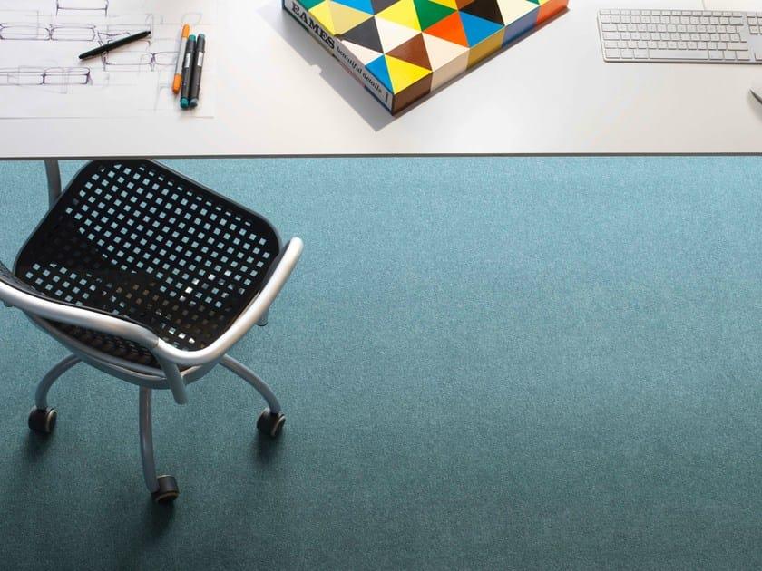 Solid-color fabric carpeting VARIA by Vorwerk Teppichwerke