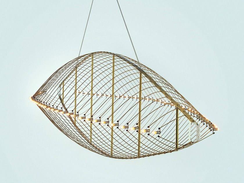 Direct light metal pendant lamp FIELTEBEK by Quasar