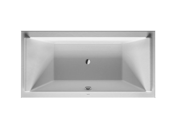 Rectangular acrylic bathtub STARCK | Rectangular bathtub by Duravit