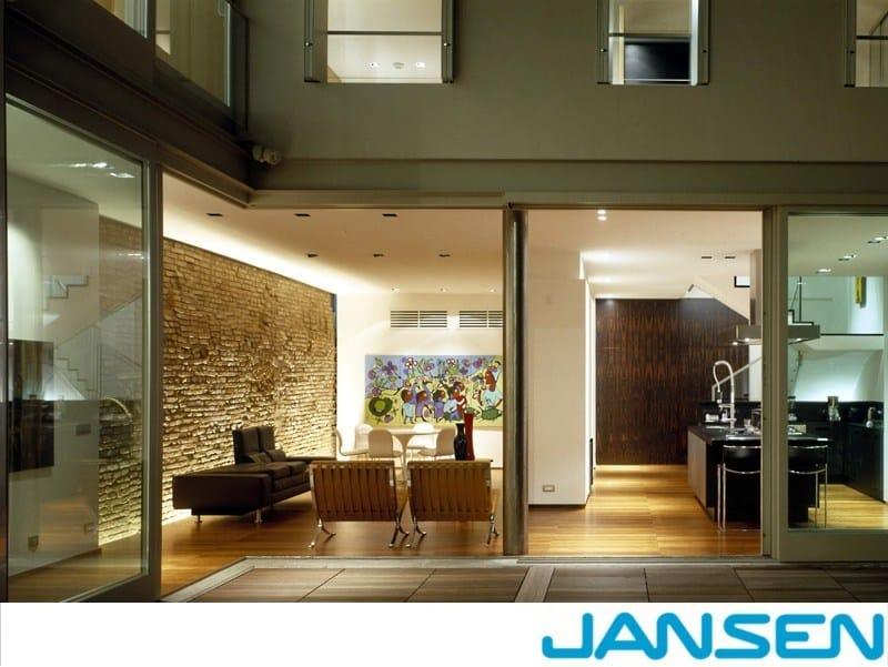 Thermal break window JANSEN  JANISOL by Jansen