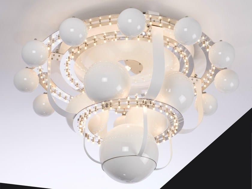 Halogen metal ceiling lamp ROYAL BB   Ceiling lamp by Quasar