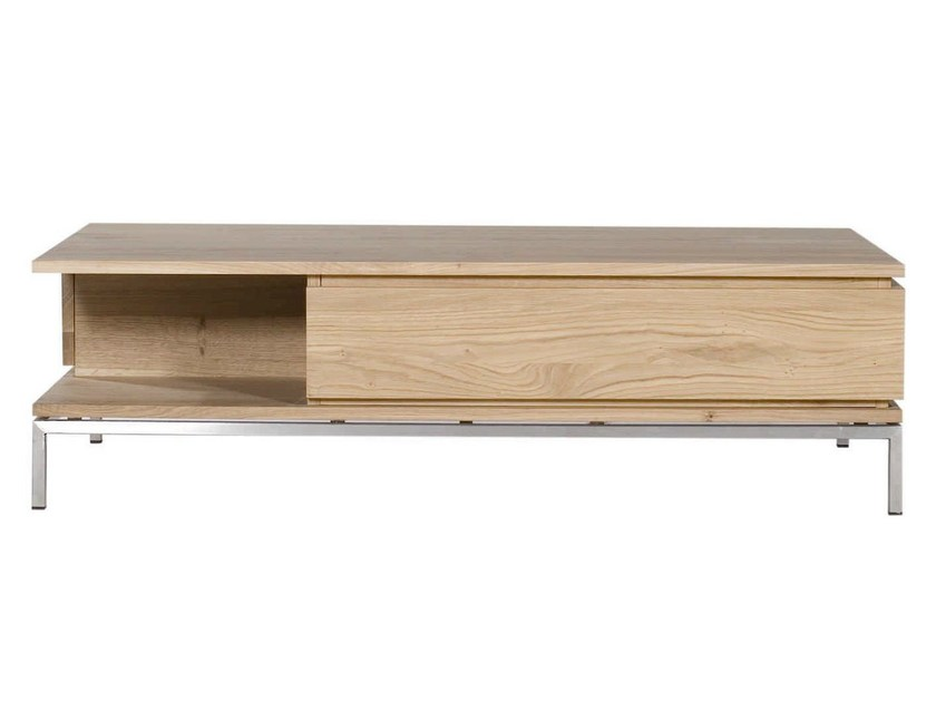 Solid wood coffee table OAK LIGNA   Coffee table by Ethnicraft