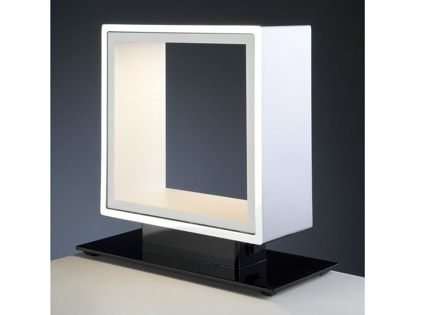LED Corian® table lamp WINDOW | LED table lamp by Quasar