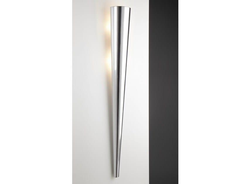 Indirect light halogen aluminium wall light TORCH by Quasar