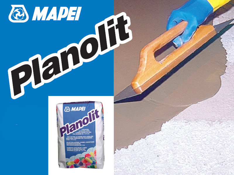 Self-levelling screed PLANOLIT by MAPEI