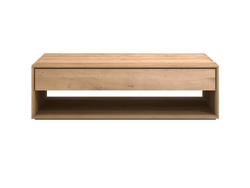 Rectangular solid wood coffee table OAK NORDIC | Coffee table by Ethnicraft