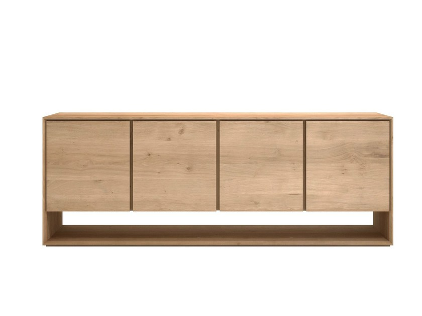 Solid wood sideboard with doors OAK NORDIC | Solid wood sideboard by Ethnicraft