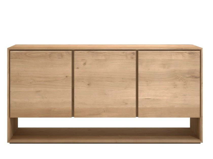 Oak sideboard with doors OAK NORDIC | Oak sideboard by Ethnicraft