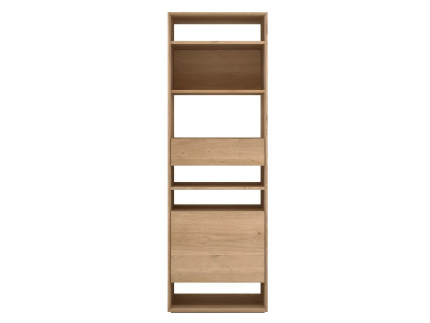 Open solid wood bookcase OAK NORDIC | Bookcase by Ethnicraft