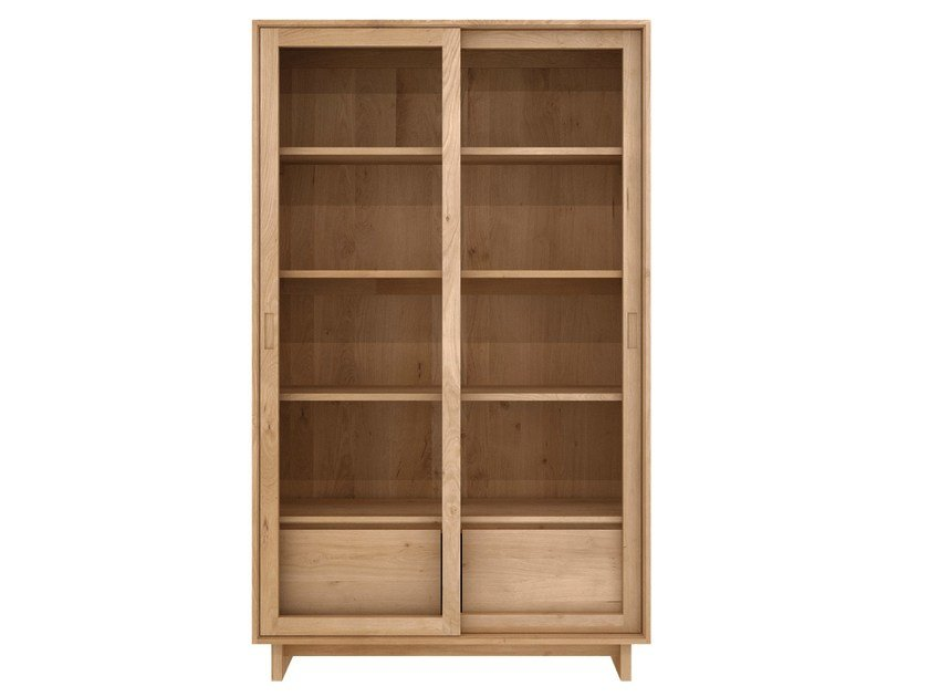 Solid wood display cabinet OAK WAVE | Display cabinet by Ethnicraft