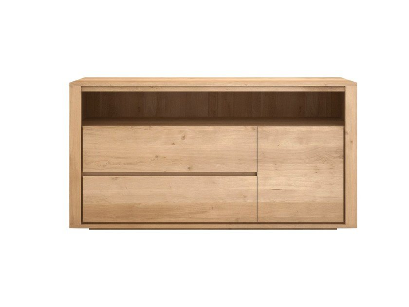 Solid wood chest of drawers OAK SHADOW | Chest of drawers by Ethnicraft