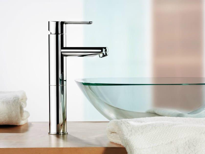 Single handle washbasin mixer without waste NOIR   Washbasin mixer by Rubinetterie Mariani