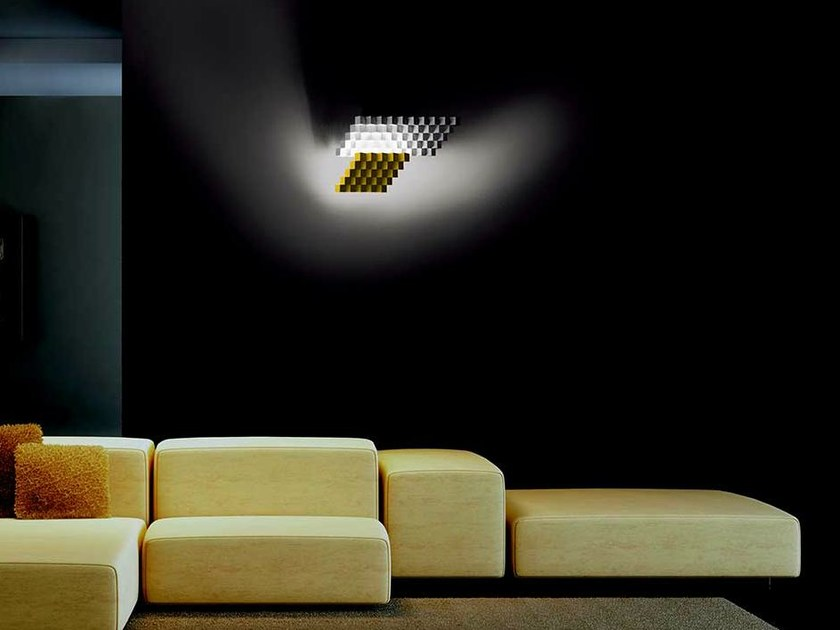 LED wall lamp CUBISMO LUNGA by Cini&Nils