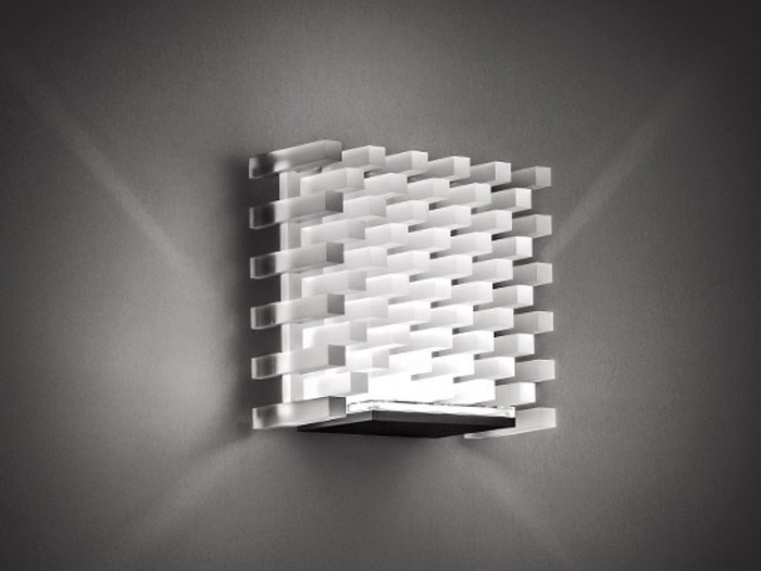 LED wall lamp NAICA FROST by Cini&Nils