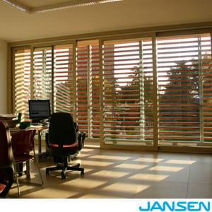 Steel sliding window JANSEN ALZA e SCORRI by Jansen