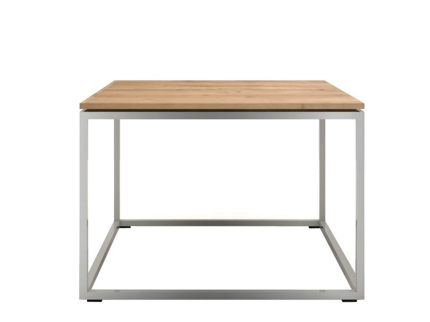 Steel and wood coffee table OAK THIN | Coffee table by Ethnicraft