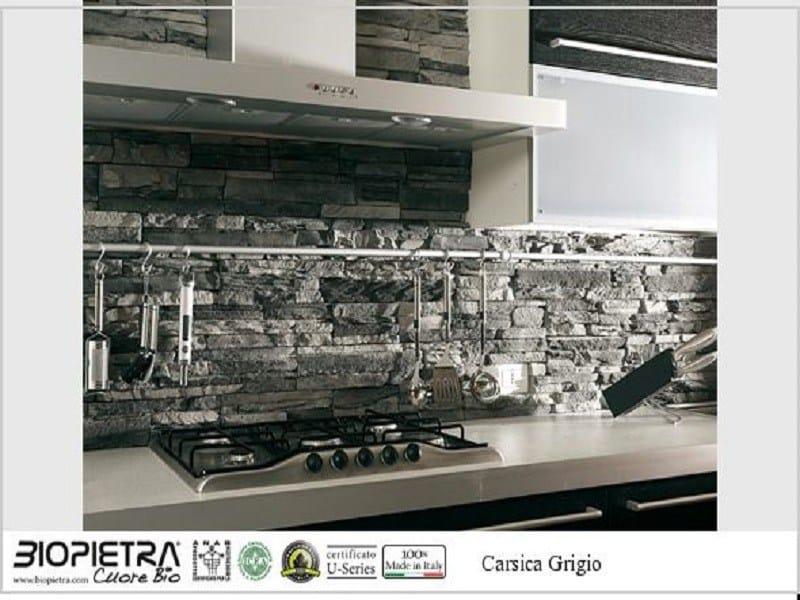 Artificial bio certified stone finish CARSICA by BIOPIETRA®
