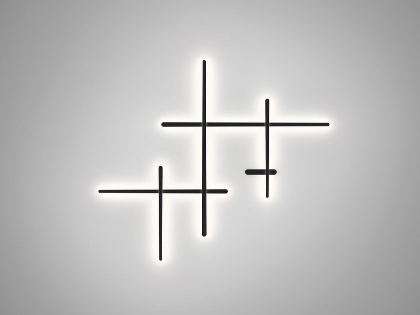 Polycarbonate wall lamp SPARKS 1700 by Vibia