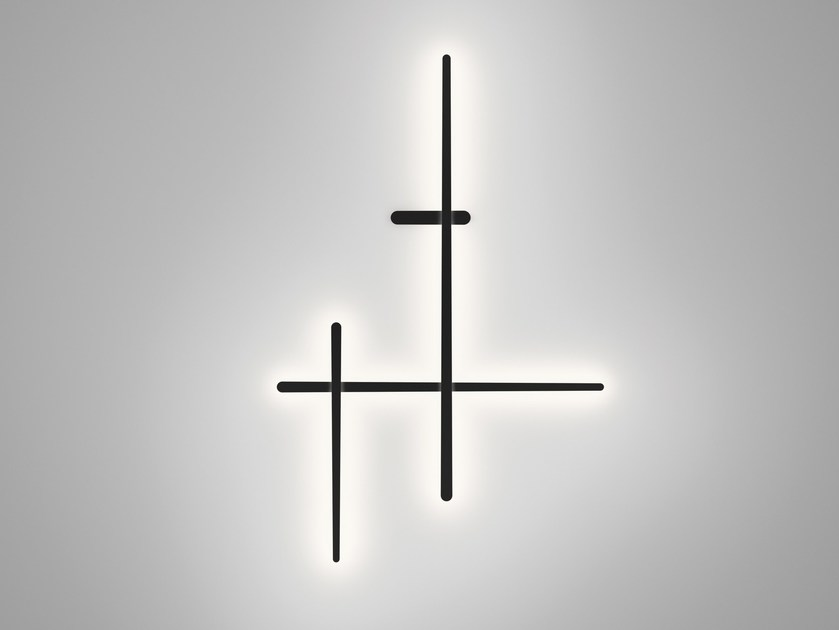 Polycarbonate wall lamp SPARKS 1715 by Vibia
