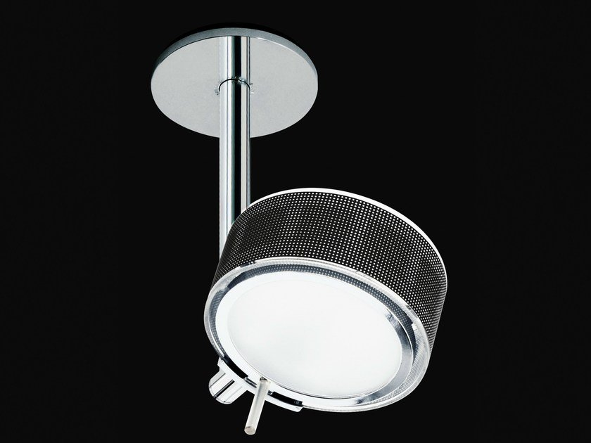 Direct-indirect light ceiling lamp COMPONI200 UNO SOFFITTO 25 by Cini&Nils