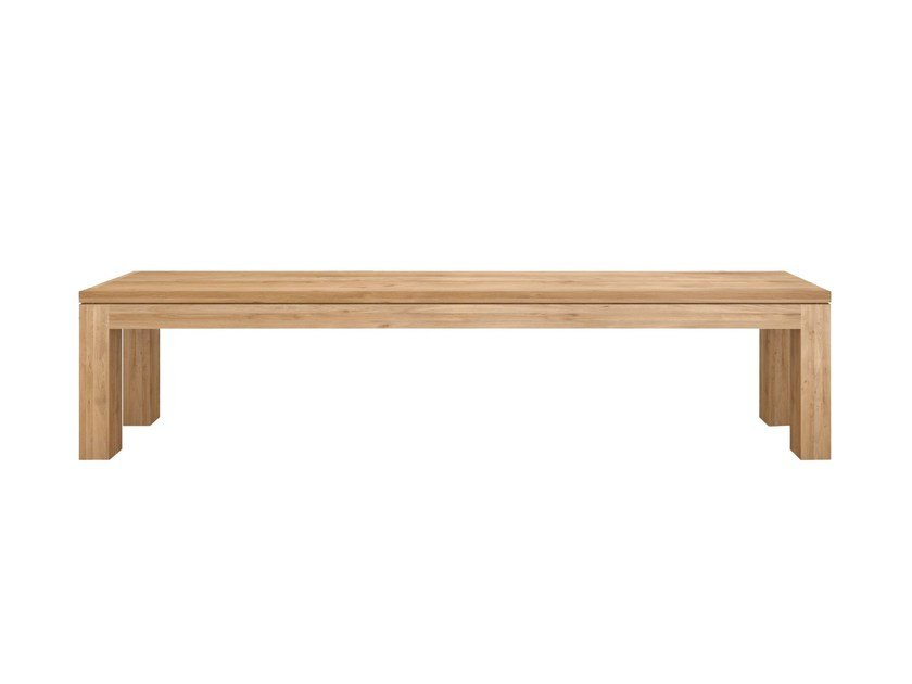 Solid wood bench OAK STRAIGHT | Bench by Ethnicraft