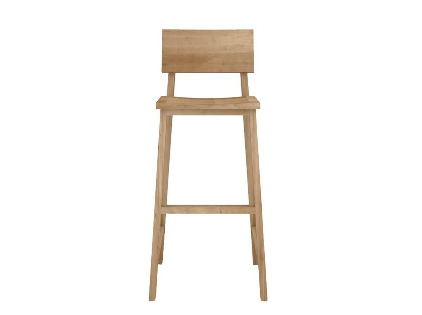 Solid wood chair OAK N4 by Ethnicraft