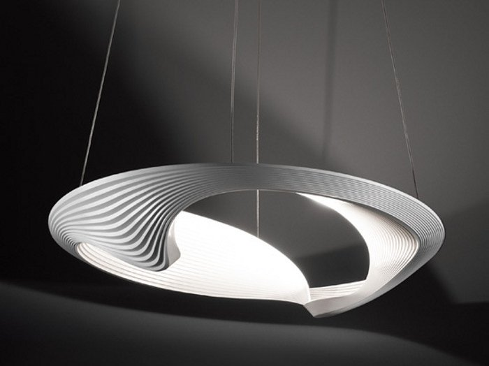 Indirect light pendant lamp SESTESSA CABRIO LED by Cini&Nils
