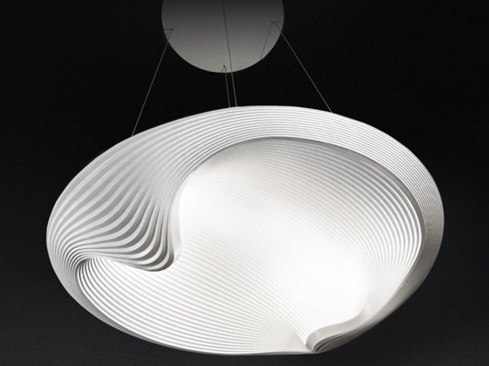 Indirect light pendant lamp SESTESSA SOSPESA LED by Cini&Nils