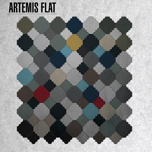 Indoor/outdoor cement wall/floor tiles ARTEMIS FLAT by TsourlakisTiles