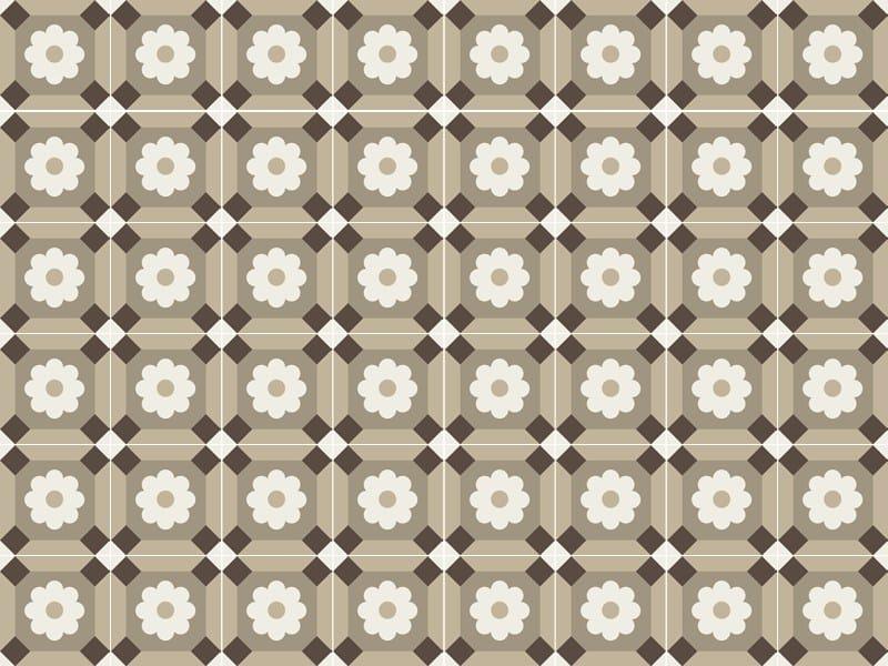Handmade cement tiles ODYSSEAS 205 by TsourlakisTiles