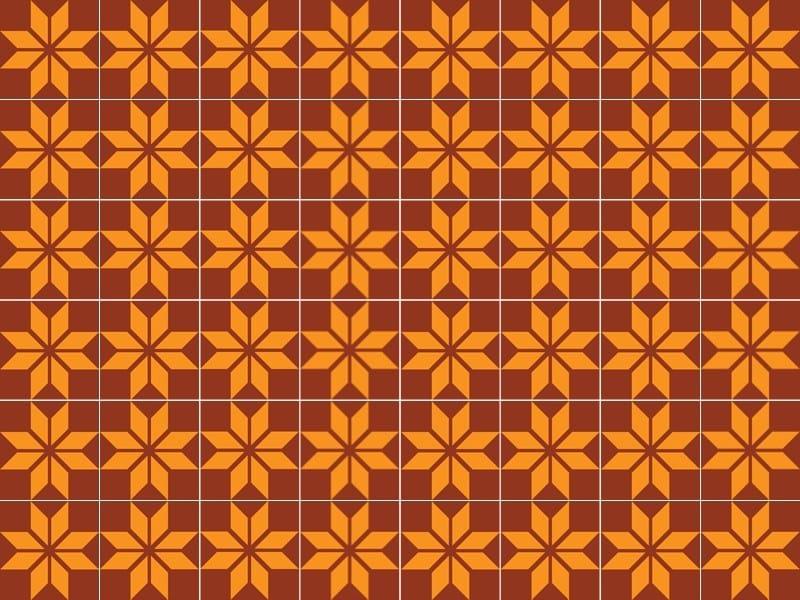 Indoor/outdoor cement wall/floor tiles ODYSSEAS 239 by TsourlakisTiles