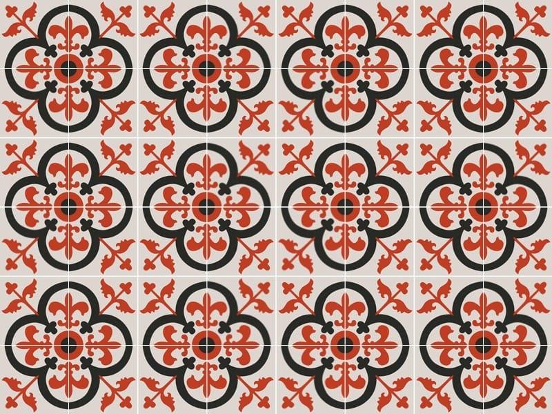 Indoor/outdoor cement wall/floor tiles ODYSSEAS 255 by TsourlakisTiles