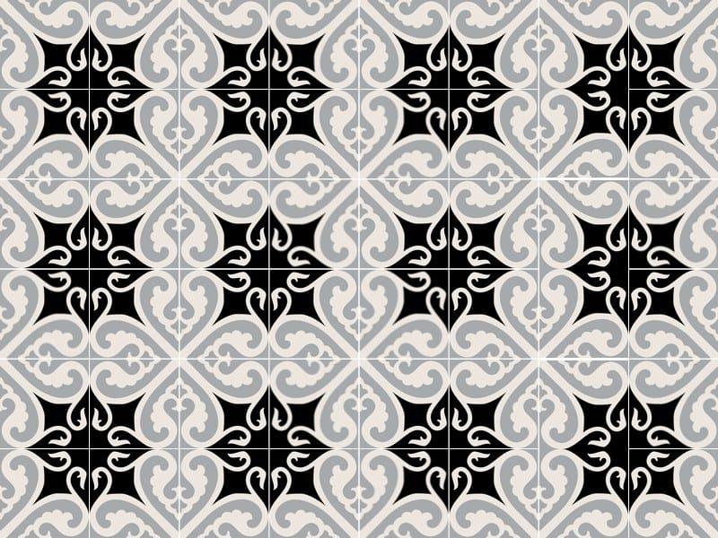 Indoor/outdoor cement wall/floor tiles ODYSSEAS 279 by TsourlakisTiles
