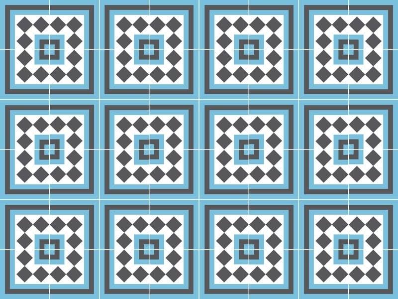 Indoor/outdoor cement wall/floor tiles ODYSSEAS 292 by TsourlakisTiles