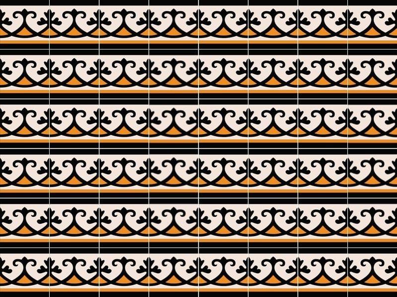 Handmade cement tiles ODYSSEAS 266 by TsourlakisTiles