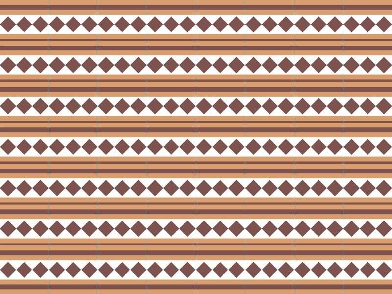 Indoor/outdoor cement wall/floor tiles ODYSSEAS 291 by TsourlakisTiles