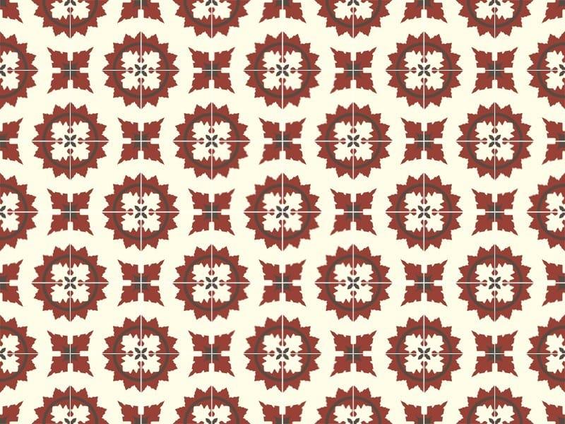 Indoor/outdoor cement wall/floor tiles ODYSSEAS 265 by TsourlakisTiles