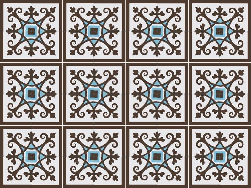 Indoor/outdoor cement wall/floor tiles ODYSSEAS 267 by TsourlakisTiles