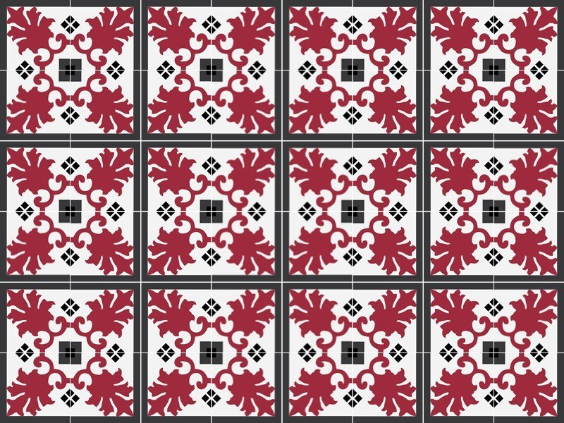 Indoor/outdoor cement wall/floor tiles ODYSSEAS 303 by TsourlakisTiles