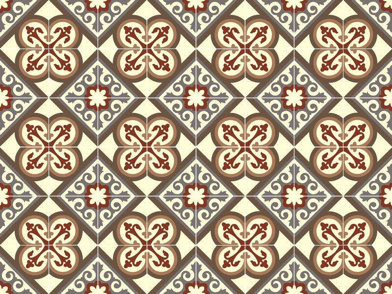 Indoor/outdoor cement wall/floor tiles ODYSSEAS 322 by TsourlakisTiles