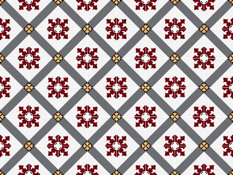 Indoor/outdoor cement wall/floor tiles ODYSSEAS 311 by TsourlakisTiles